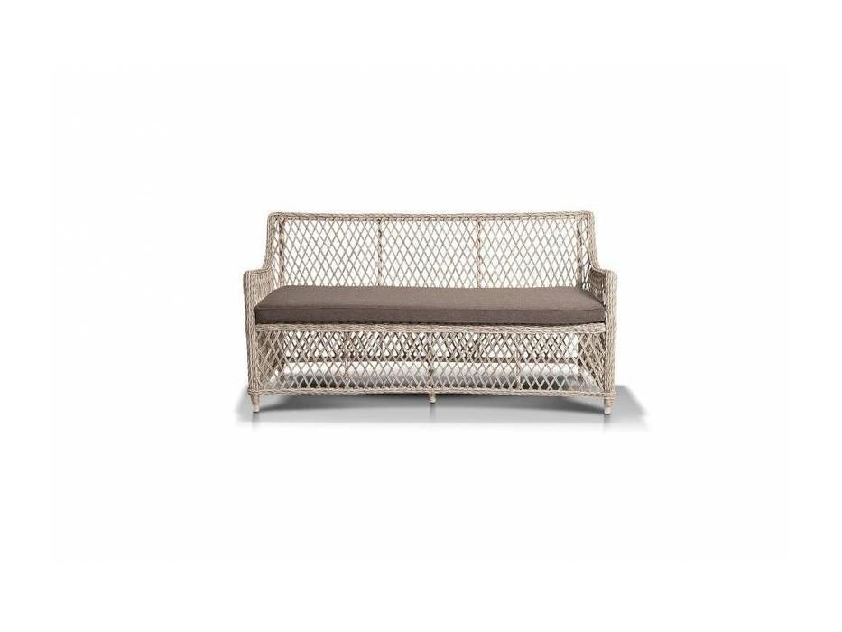4SIS: Латте: диван 2 местный  (белый)
