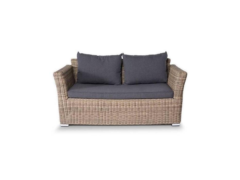 4SIS: Капучино: диван 2 местный  (соломенный)