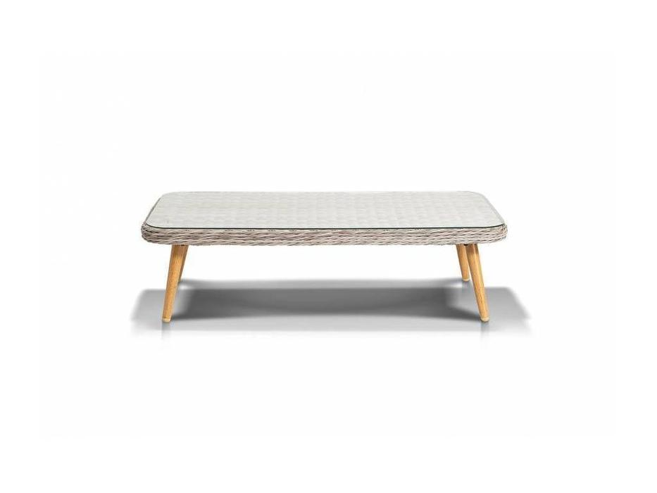 4SIS: Прованс: стол журнальный  (белый, серый)