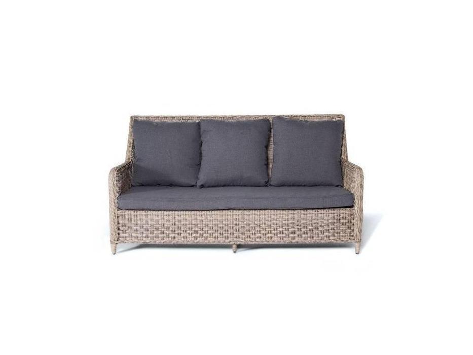 4SIS: Гляссе: диван 3 местный  (соломенный)