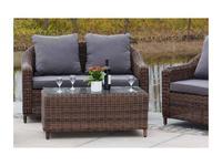 4SIS: Кон Панна: диван 2 местный  (коричневый)