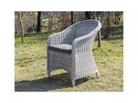 4SIS: Равенна: кресло садовое  (белый)
