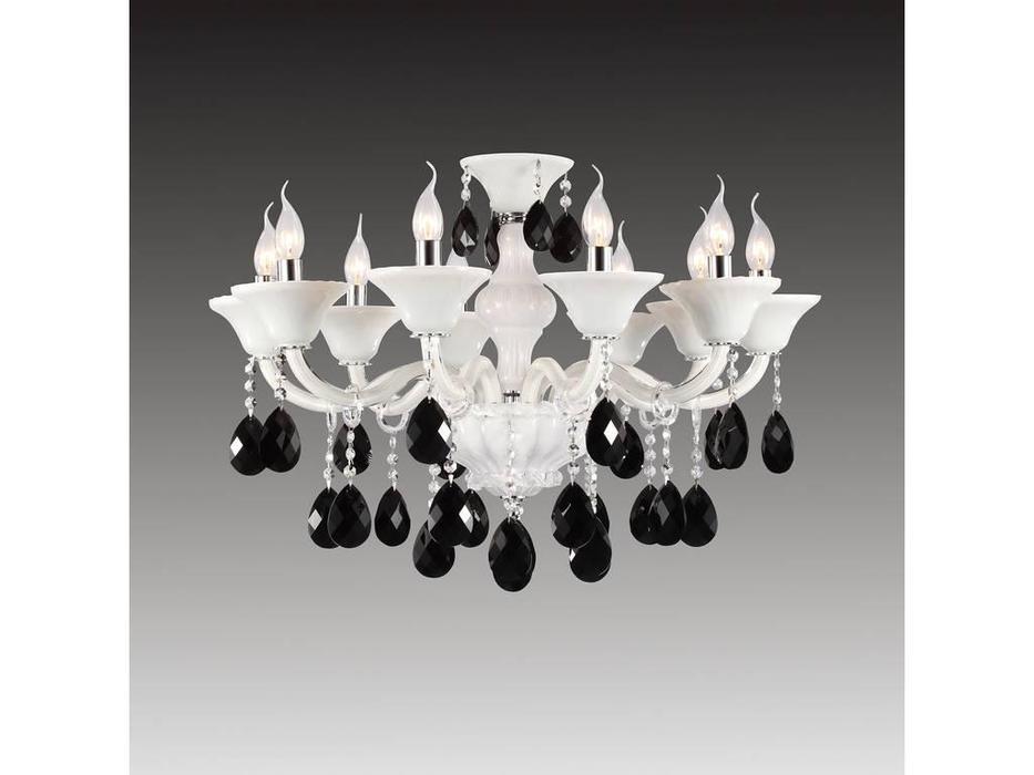 Osgona: BIANCO: люстра подвесная  10х60w (белый)