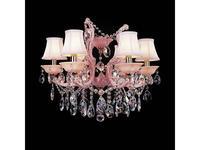 Osgona: PRINCIA: люстра  6 x E14 max 40W (розовый, прозрачный)