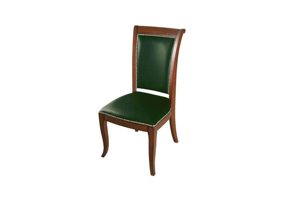 Ришар: стул  (шпон, черешня, кожа)