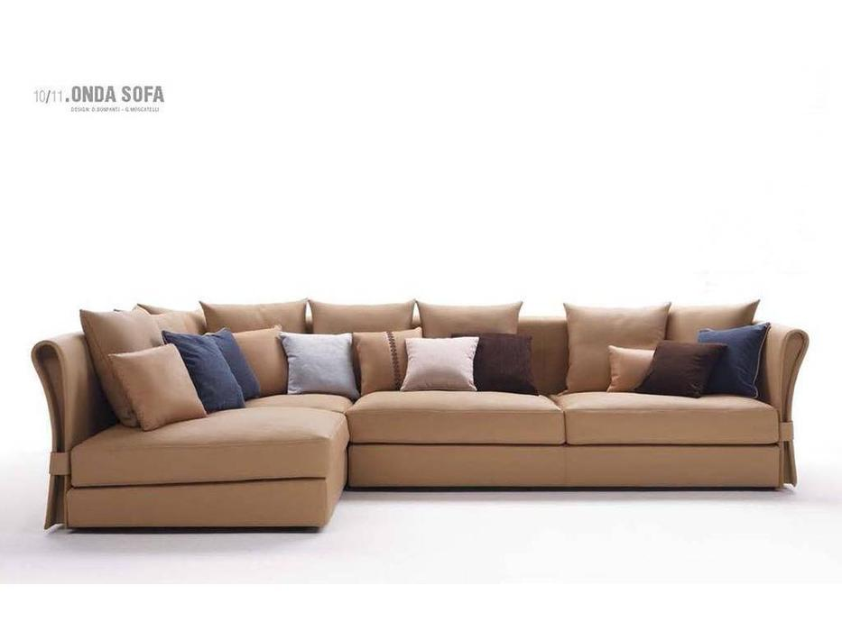 Zani: Onda: диван угловой (кожа)
