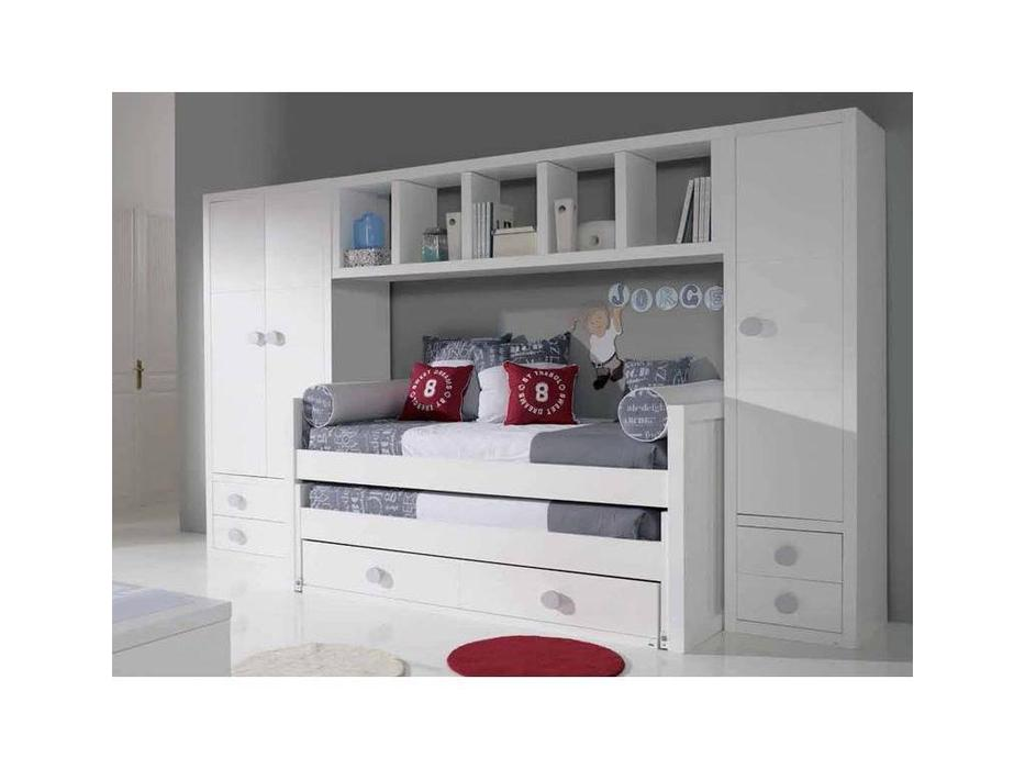 Trebol: Lineas: детская комната (белый)