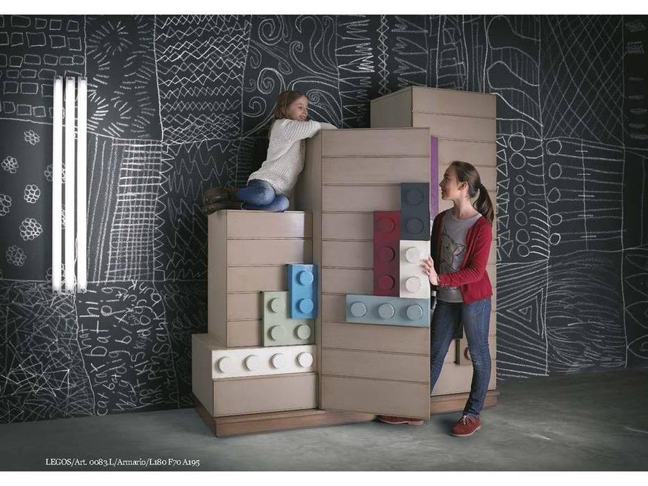 Lola Glamour: Legos: шкаф 3-х дверный