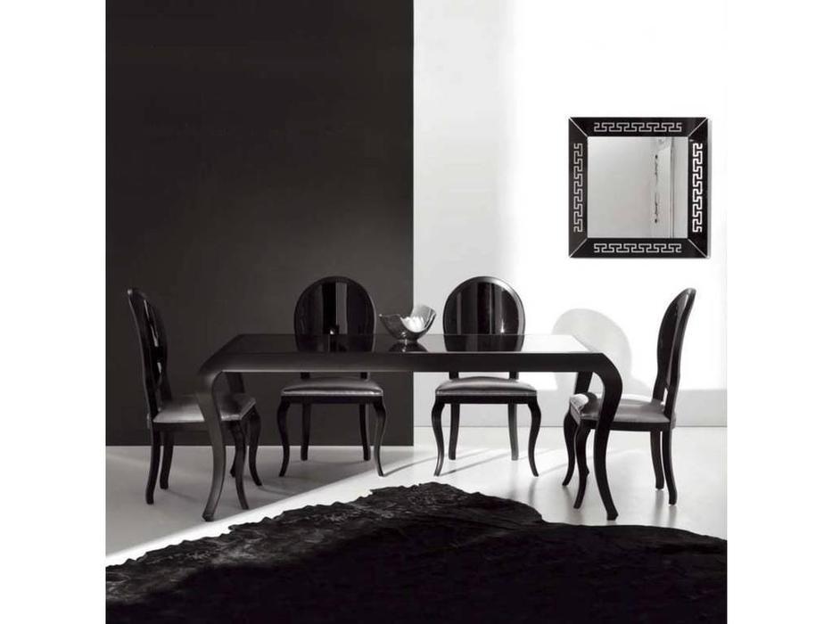 Veneta Sedie: Lisa: стол обеденный  (P51 - lacc.nero)