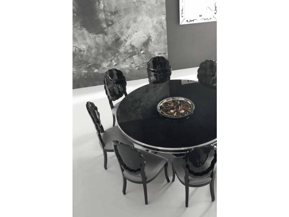Veneta Sedie: Sensual: стол обеденный  (P51 - lacc.nero)