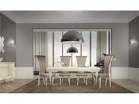 СJ: Adagio fresh: стол обеденный  (Blanco, aluminio)