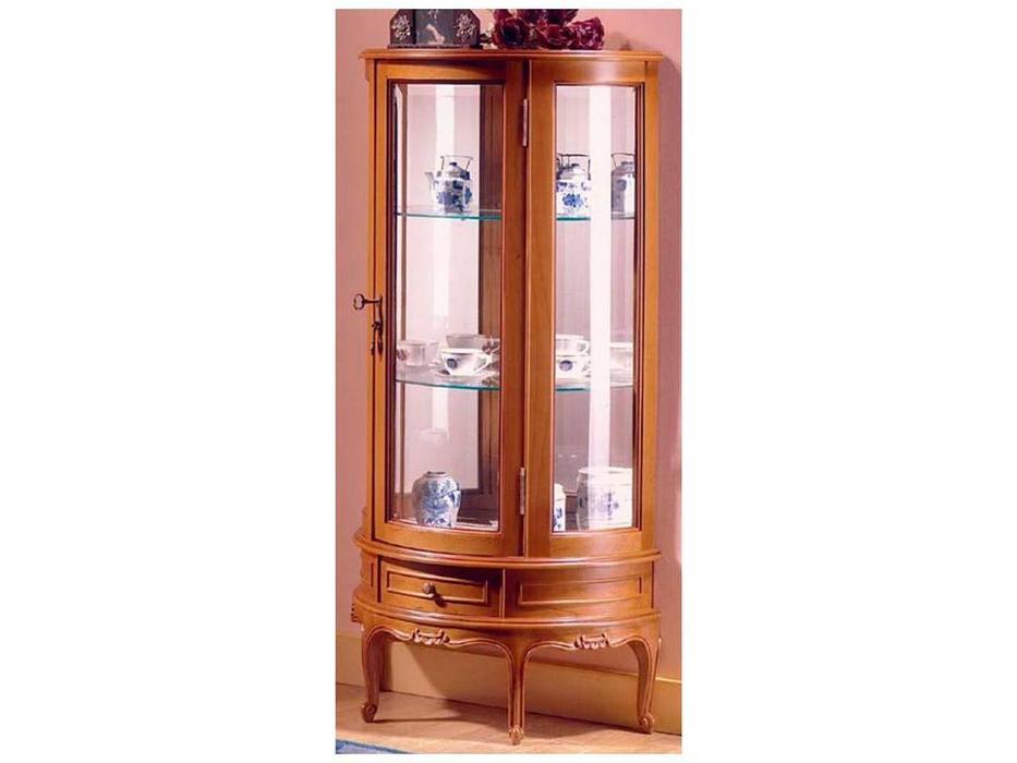 IDC Mobiliario: Lua Pes: витрина 1 дверная  (орех кларо)