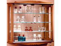 IDC Mobiliario: витрина подвесная  (орех кларо)