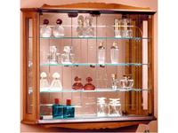 IDC Mobiliario: витрина подвесная  (орех)