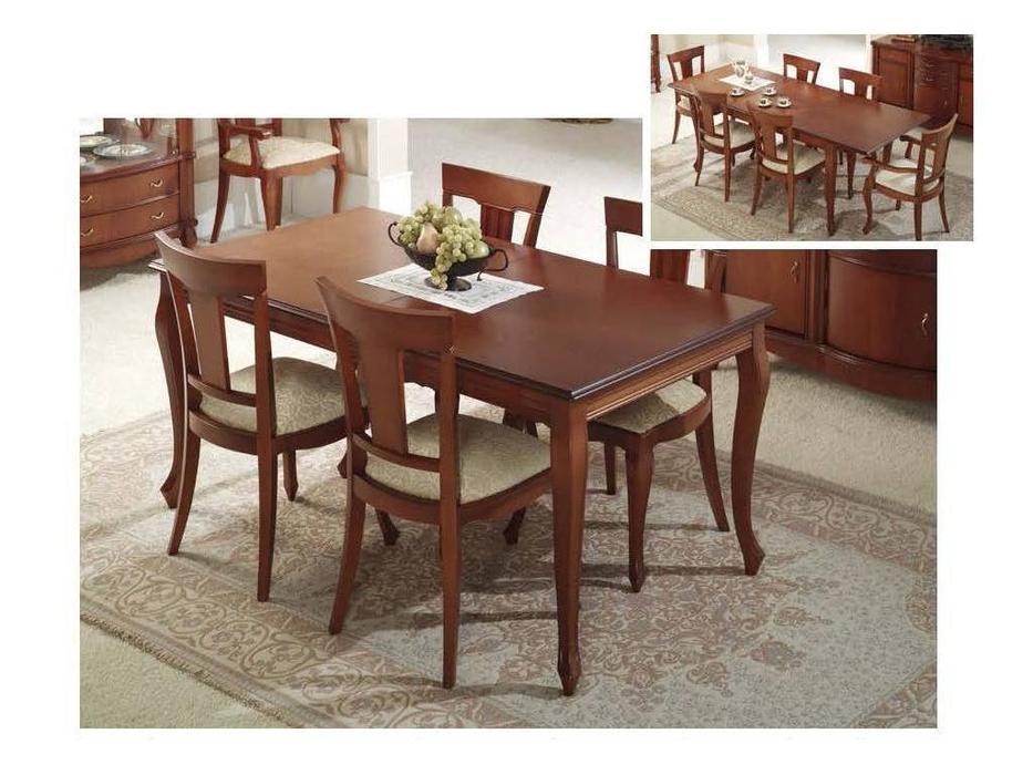 Disemobel: стол обеденный  прямоугольный (орех)