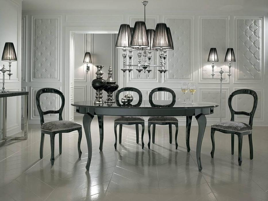 DV Home Collection: Vogue: стол обеденный раскладной (laccato)
