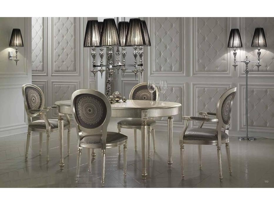 DV Home Collection: Vanity: стол обеденный раскладной (foglia oro)