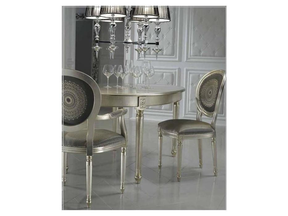 DV Home Collection: Vanity: стул (foglia oro, ткань)