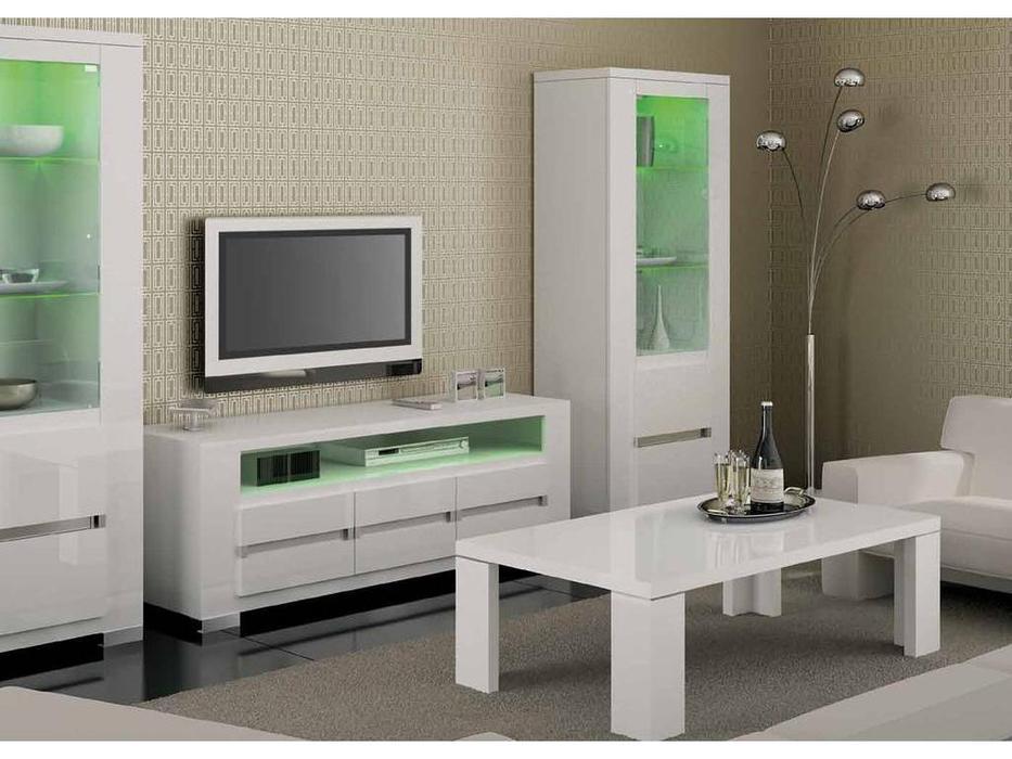 Status: Elegance: тумба под телевизор  (белый)