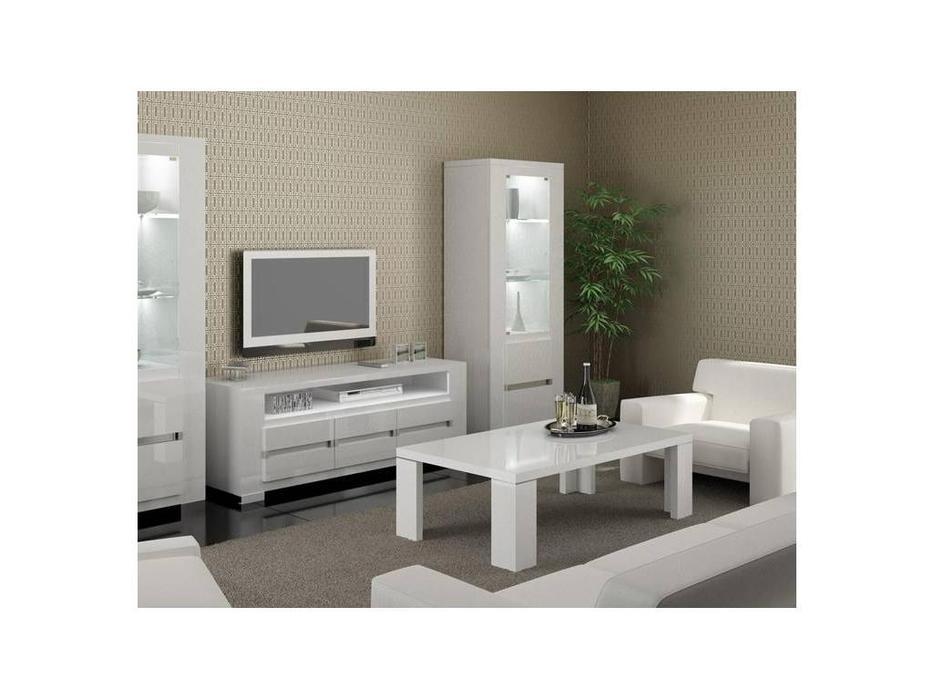 Status: Elegance: стол журнальный  (белый)