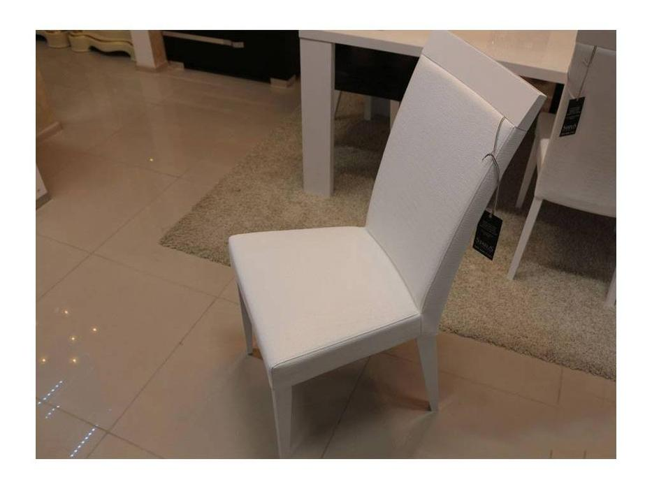 Status: Elegance: стул  (кожзам белый croco)
