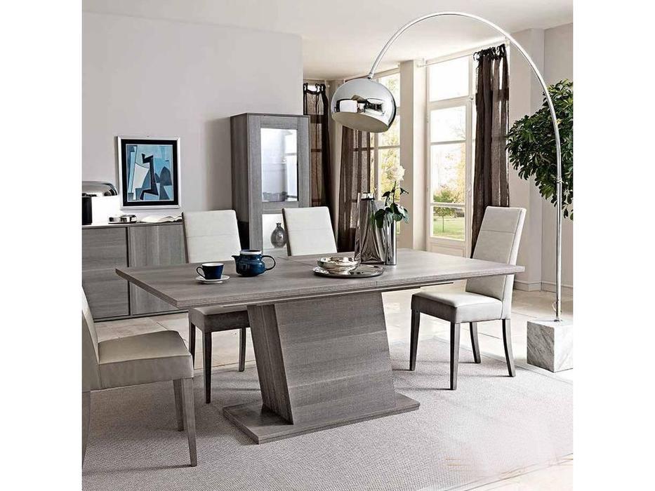 Status: Futura: стол обеденный на 8 человек  (grey)