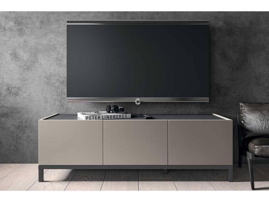 Status: Kali: тумба под телевизор  3 двери (серый, беж)