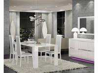 Status: Elegance: стул  (белый, серый Вермонт)