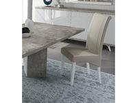 Status: Treviso: стул  (белый лак, цемент)