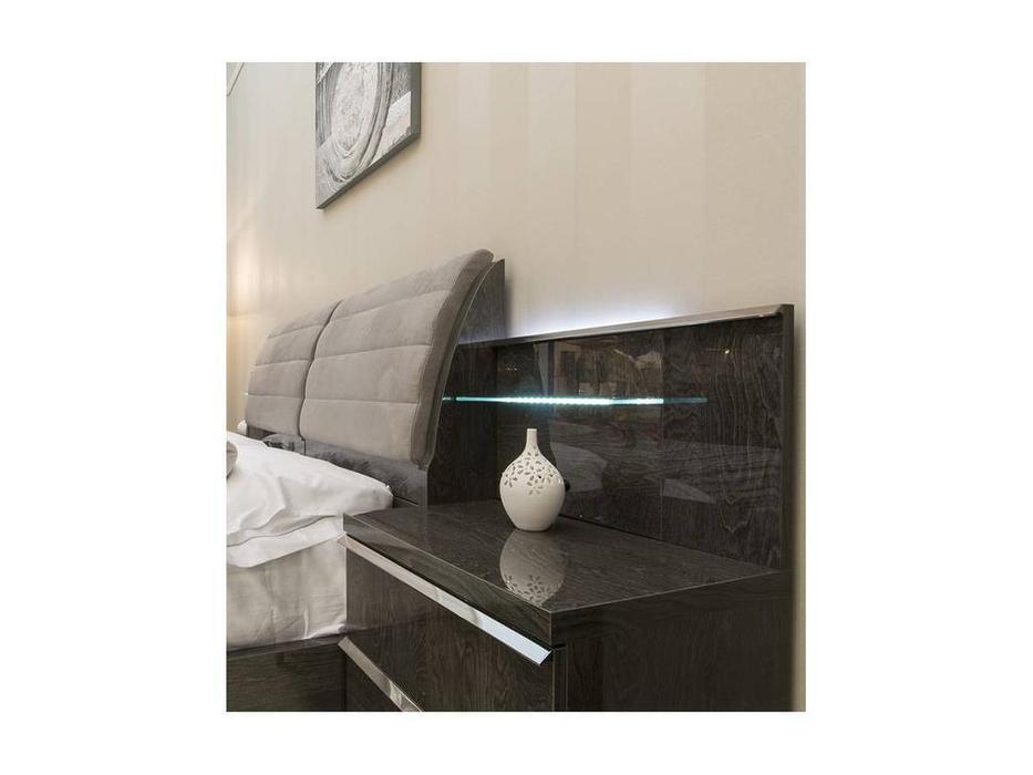 Status: Elite: панель к прикроватной тумбе с подсветкой  (Grey)