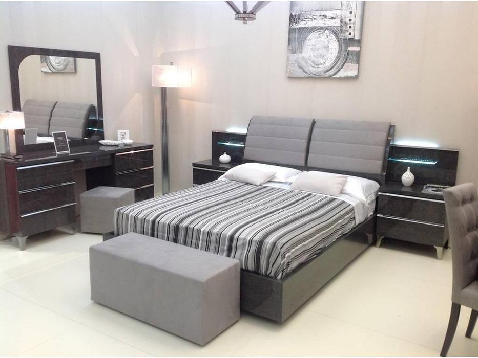 Status: Elite: кровать 154 x 203  (Grey)