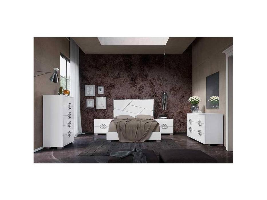 Status: Dafne: кровать 198х203  (белый)