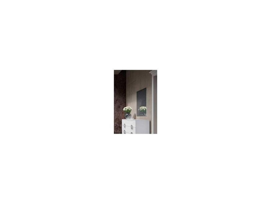 Status: Dafne: зеркало навесное  (белый)