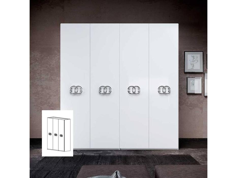 Status: Dafne: шкаф 3 дверный  (белый)