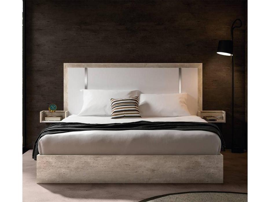 Status: Treviso: кровать 154х203  (белый, серый)