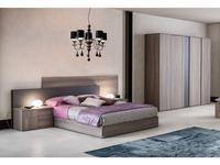 Status: Futura: кровать 198х200  (grey)