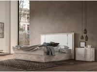 Status: Treviso: кровать 184х203  (белый, серый)