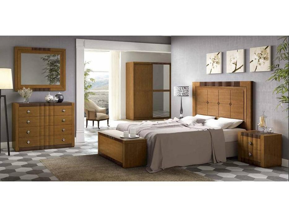 Arteal: Alfa-2: кровать 160х200  (черешня)