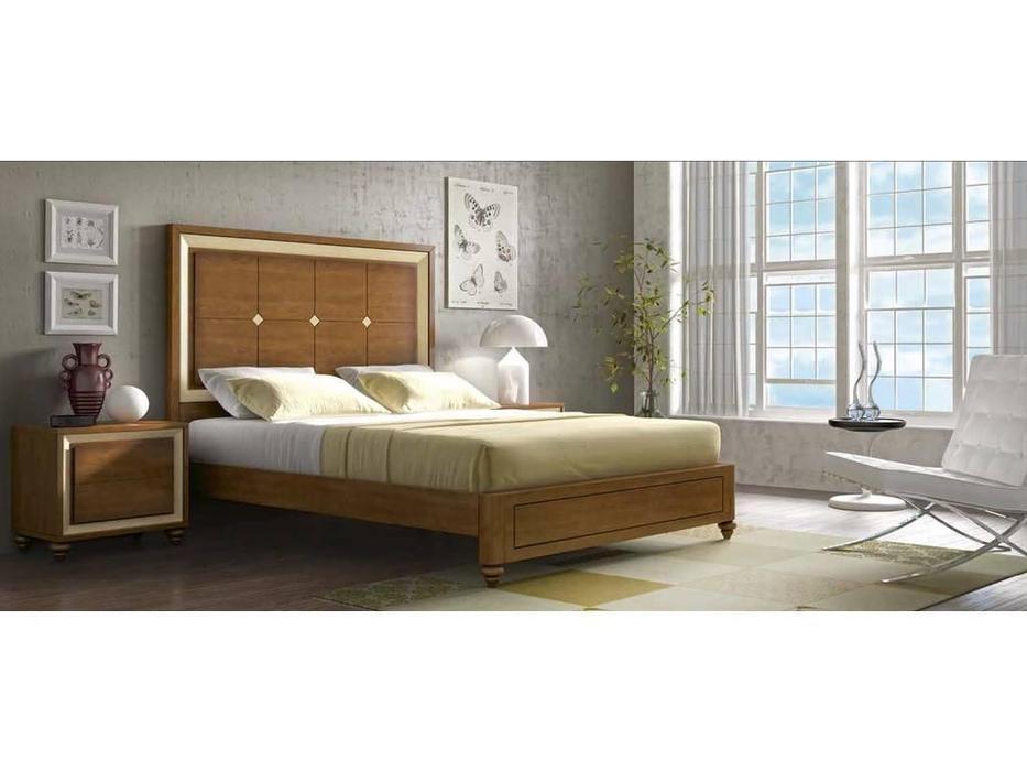 Arteal: Cesarus-13: кровать 150х200  (черешня)