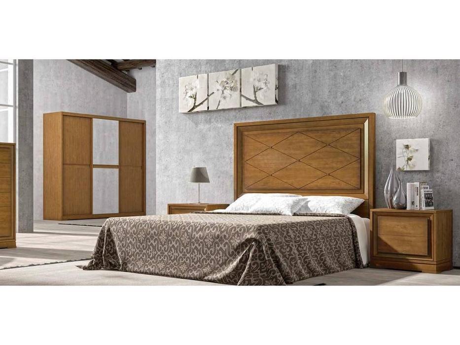 Arteal: Cesarus-12: кровать 180х200  (черешня)