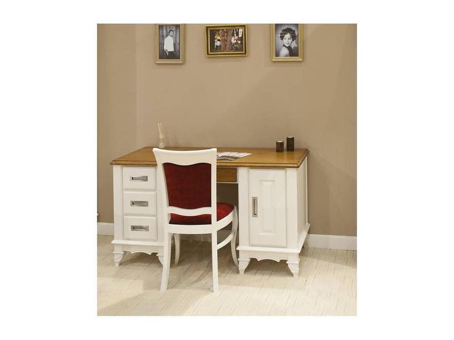 Simex: Париж: стул (белый черешня, ткань)