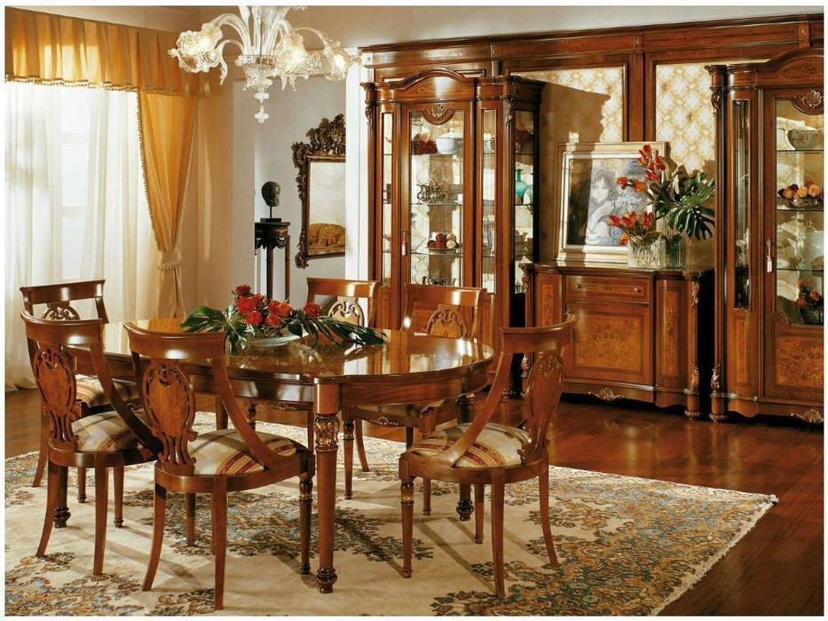Antonelli Moravio: Pitti: стол обеденный  (орех)