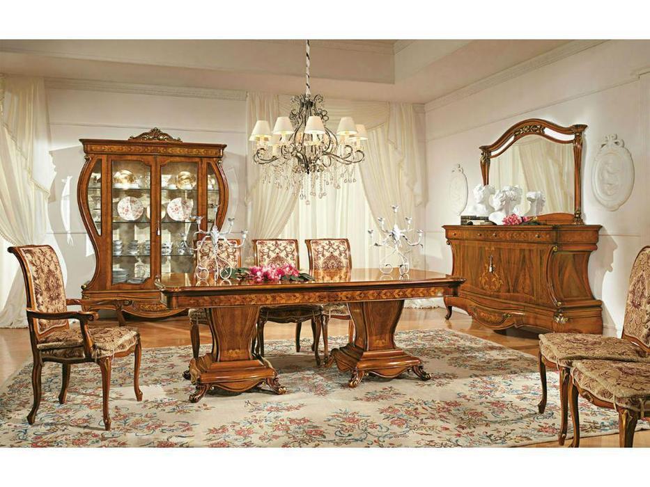 Antonelli Moravio: Napoleone: стол обеденный раскладной  (орех)
