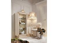 Antonelli Moravio: Belvedere: витрина 1 дверная  (белый, золото)