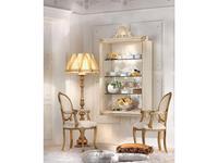 Antonelli Moravio: Belvedere: витрина подвесная  (белый, золото)