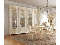Antonelli Moravio: Pitti: витрина 4-х дверная  (белый, золото)