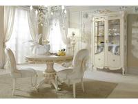 Antonelli Moravio: Charme: стол обеденный  (белый, золото)