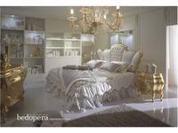 Piermaria: Bedopera: кровать 180х200 с подъемным механизмом (белый)
