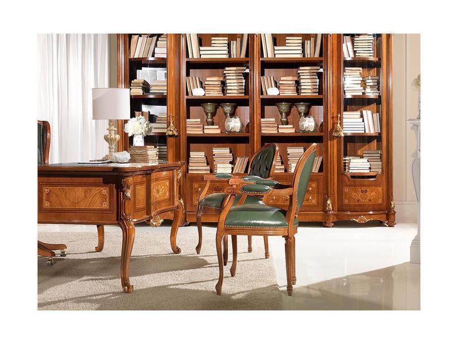 Antonelli Moravio: Pitti: кресло  (noce, кожа)