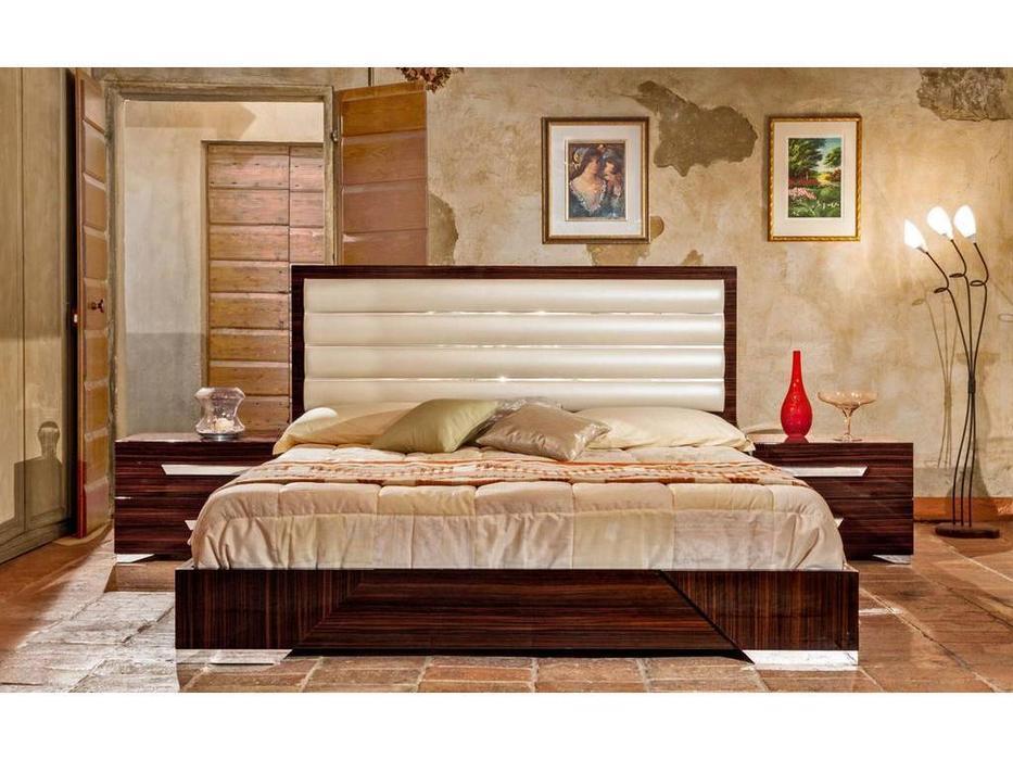 H2O: Romano: кровать 162х208 (ebony)